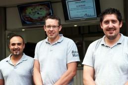 Tournage chez Pizza Vival à Aurillac