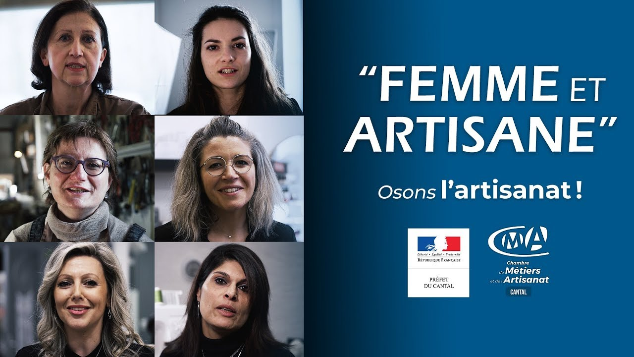 FEMME ET ARTISANE - Osons l'artisanat !