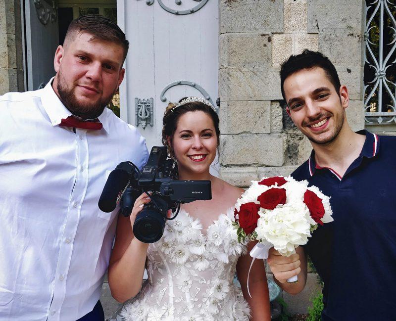 Léo Pons tournage vidéos films de mariage Cantal