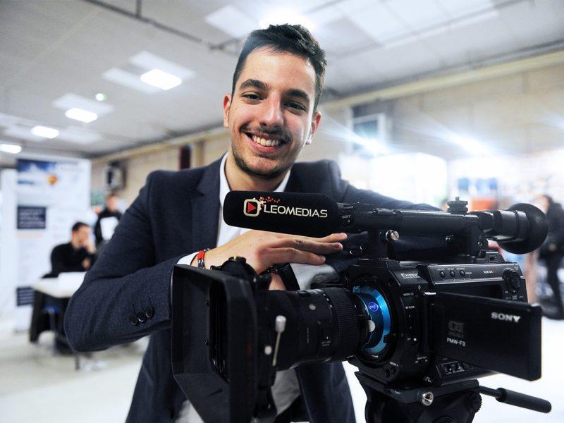 Léo Pons réalisateur de vidéos dans le Cantal Leomedias
