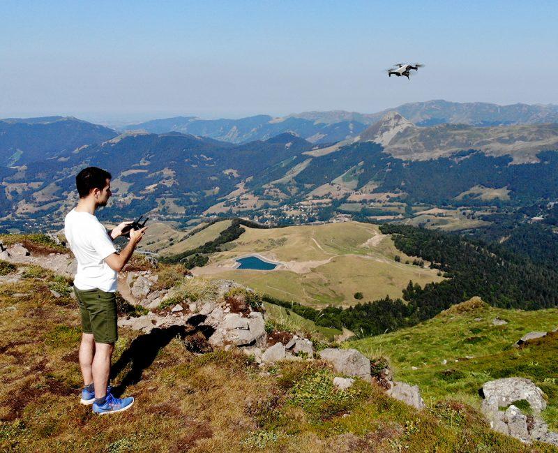 Léo Pons vidéos et photos aériennes avec drone télépilote Cantal